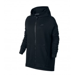 Mikina Nike SweatShirt Tech Fleece Cape Hooded - 811710 010