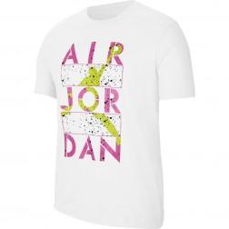 Tričko NIKE AIR JORDAN Stencil Crew Tee - CJ6308 100