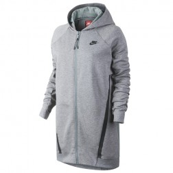 NIKE Nikelab Essential Fleece Long Hoodie