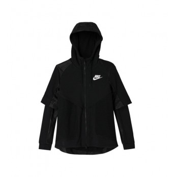 Mikina NIKE Tech Fleece Perforated Jacket - 749124 010