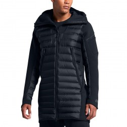 Bunda Nike Tech Fleece Aeroloft Parka Triple Black Down