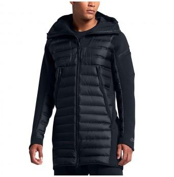 Bunda Nike Tech Fleece Aeroloft Parka Triple Black Down - 822243 010