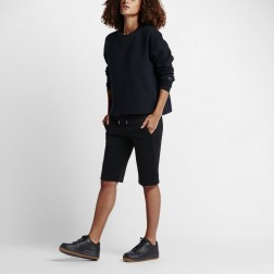 Mikina NIKE Nikelab Essentials Tech Fleece Crew - 824100 010