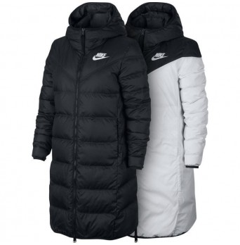 Oboustranný péřový kabát/bunda Nike WR DWN FILL PRKA REV W - 939440 010