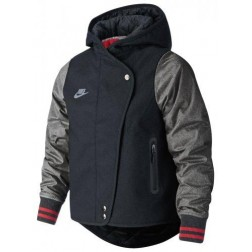 Dívčí bunda Nike YA Varsity Jacket YTH - 728119 010