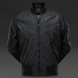 Bomber / bunda Nike NSW JKT WVN AF1 (black) - 925436 010